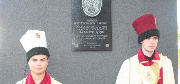 W 250. rocznicę bitwy na polach wsi Pobitno